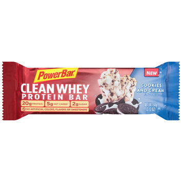PowerBar® Clean Whey Cookies and Cream Flavored Protein Bar 2.12 oz. Wrapper