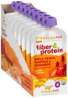 Happy Tot® Fiber & Protein Apple, Peach, Pumpkin & Cinnamon 8-4 oz. Pouch