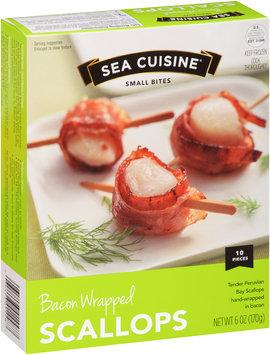 Sea Cuisine® Small Bites Bacon Wrapped Scallops 6 oz. Box