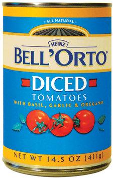 BELL'ORTO Diced W/Basil Garlic & Oregano Tomatoes