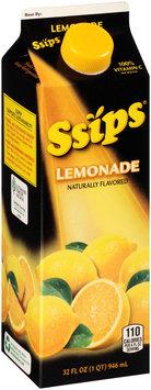Ssips® Lemonade 32 fl. oz. Carton
