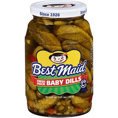 Best Maid® Baby Dills Pickles 22 fl. oz. Jar