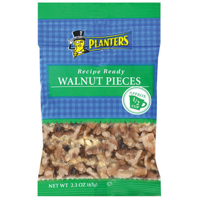 Planters Pieces Walnut 2.3 Oz Peg