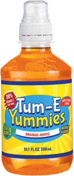 Tum-E Yummies Orange-arific Flavored Beverage 10.1 oz Plastic Bottle