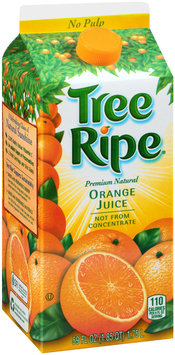 Tree Ripe® No Pulp Premium Natural Orange Juice 59 fl. oz. Carton