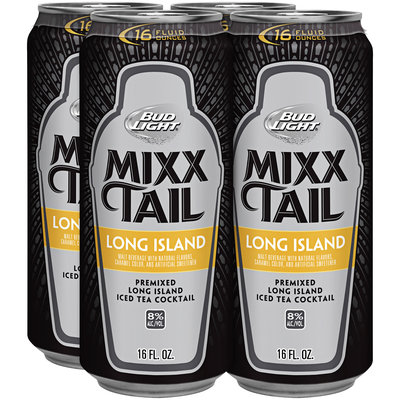 Bud Light Mixx Tail Long Island Iced Tea Cocktail