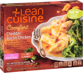 LEAN CUISINE COMFORT Cheddar Bacon Chicken 8 oz Box