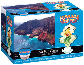 Kauai Coffee® Na Pali Coast Dark Roast Single Serve Cups 12 ct Box