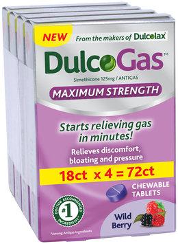 DulcoGas™ Maximum Strength Wild Berry 72 count