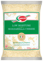 Saputo® Gold Whole Milk Mozzarella Shred Cheese 5 Lb Bag