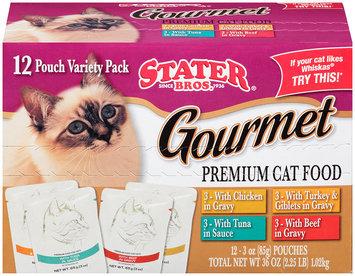 Stater Bros.® Gourmet Premium Variety Pack Cat Food 36 oz. Box