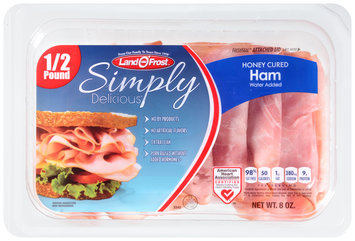 Land O' Frost® Simply Delicious® Honey Cured Ham 8 oz. Pack