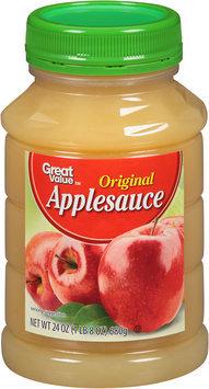 Great Value™ Original Applesauce 24 oz. Jar