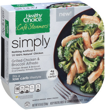 Healthy Choice® Cafe Steamers® Grilled Chicken & Broccoli Alfredo