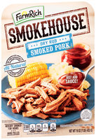 Farm Rich® Smokehouse™ Dry Rub Smoked Pork 16 oz. Tray