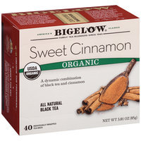 Bigelow® Sweet Cinnamon Organic Black Tea 40 ct Box