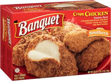 Banquet® Variety Pack Southern Crispy Chicken 28 oz. Box