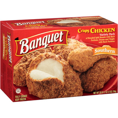 Banquet® Variety Pack Southern Crispy Chicken 28 oz. Box