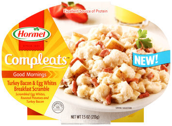 Hormel® Compleats™ Good Mornings Turkey Bacon & Egg Whites Breakfast Scramble 7.5 oz. Tray