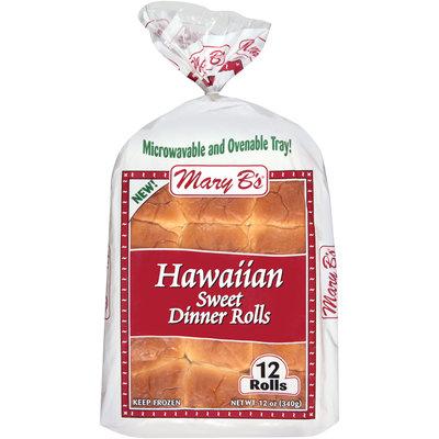 Mary B's® Hawaiian Sweet Dinner Rolls 12 ct. 12 oz. Bag