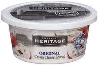 American Heritage® Original Cream Cheese Spread 8 oz. Tub