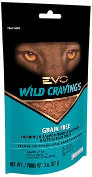 Evo® Wild Cravings Herring & Salmon Formula Cat Treats 3 oz. Bag