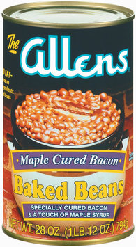 The Allens Maple Cured Bacon Baked Beans 28 Oz Can
