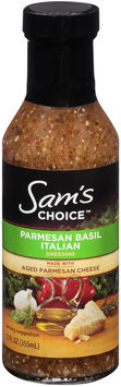Sam's Choice™ Parmesan Basil Italian Dressing 12 fl. oz. Bottle