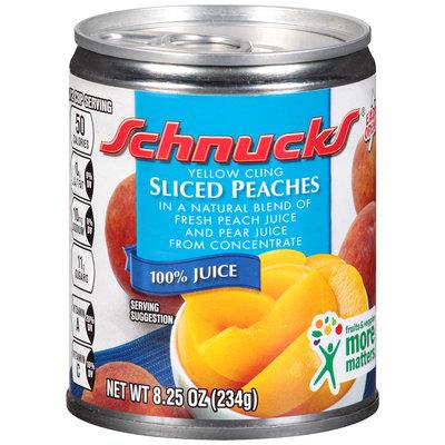 Schnucks® Yellow Cling Sliced Peaches
