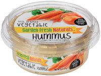 Garden Fresh Natural® Vegetable Hummus 8 oz. Tub