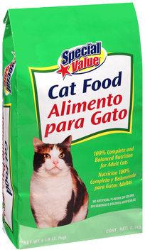 Special Value® Cat Food 6 lb. Bag