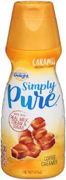 International Delight™ Simply Pure® Caramel Coffee Creamer 1 pt. Bottle