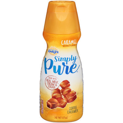 International Delight™ Simply Pure® Caramel Coffee Creamer 1 pt. Bottle