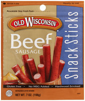 Old Wisconsin® Beef Sausage Snack Sticks