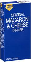 Price First™ Original Macaroni & Cheese Dinner 7.25 oz. Box