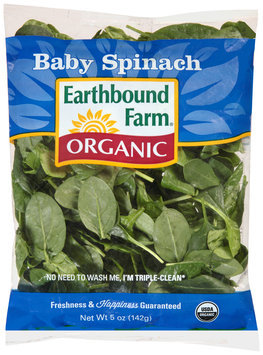 earthbound farm® organic baby spinach