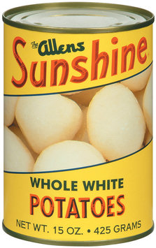 The Allens Sunshine Whole White Potatoes 15 Oz Can