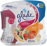 Glade® PlugIns® Vanilla Passion Fruit and Hawaiian Breeze® Scented Oil Refills 2.68 fl. oz. Pack