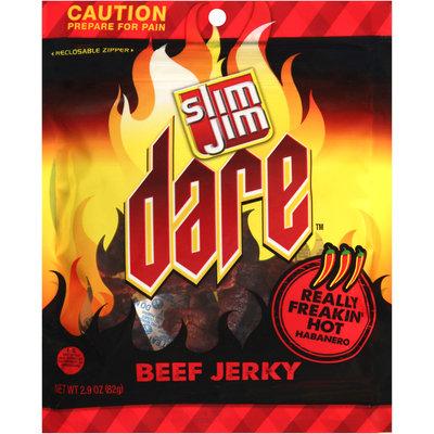 Slim Jim Dare Really Freakin' Hot Habanero Beef Jerky
