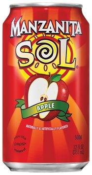 Manzanita Sol® Apple Soda 4 Pack 12 fl. oz. Cans