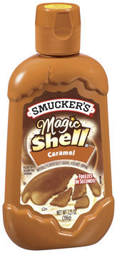 Smucker's Caramel Toppings Magic Shell 7.25 Oz Squeeze Bottle