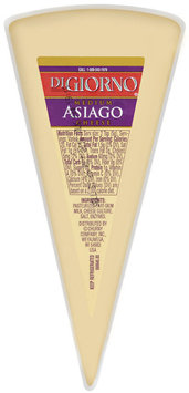 DiGiorno Asiago Medium Hicut Rw 8-12 Oz Cheese   Wedge
