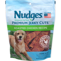 Nudges® Premium Jerky Cuts™ Roasted Chicken Recipe Bone & Joint Dog Treats 10 oz. Bag
