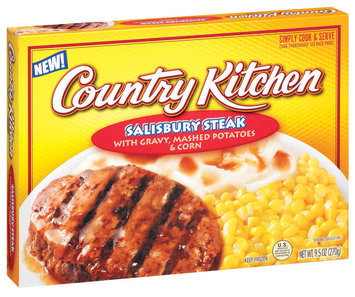 Country Kitchen W/Gravy Mashed Potatoes & Corn Salisbury Steak 9.5 Oz Box