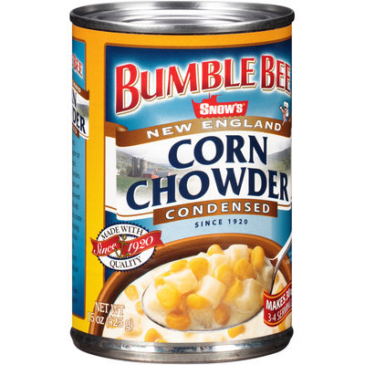 Bumble Bee® Snow's® New England Corn Chowder Condensed 15 oz. Can
