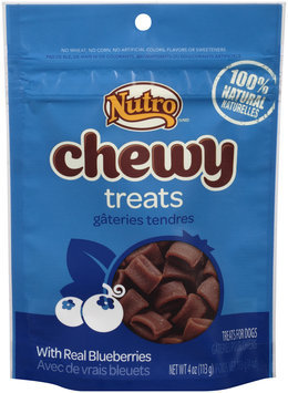 Nutro® Chewy with Real Blueberries Dog Treats 4 oz. Pouch