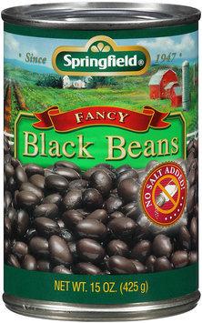 Springfield® Fancy Black Beans 15 oz Can