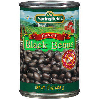Springfield® Fancy Black Beans 15 oz Can