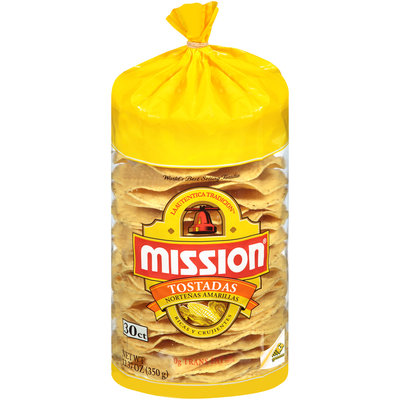 Mission® Tostadas 12.37 oz. Bag