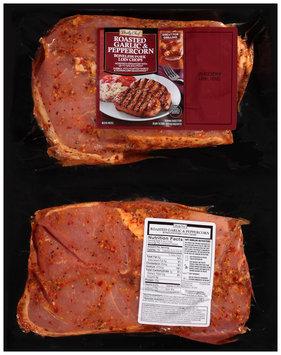 Daily Chef® Roasted Garlic Peppercorn Boneless Pork Loin Chops Pack
